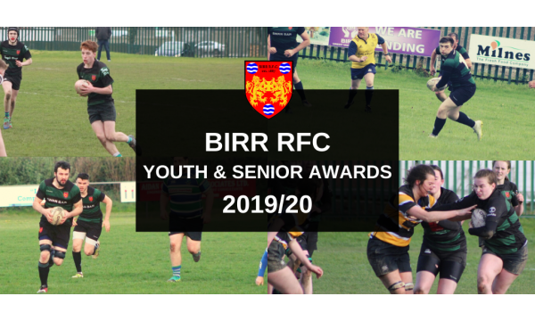 Youth & Senior Awards 2019/20