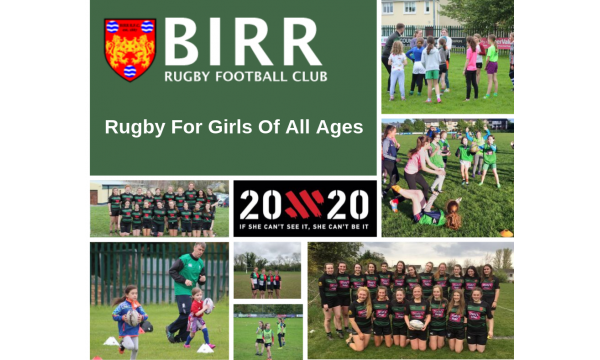 Birr RFC Continuing to Grow Girls Rugby