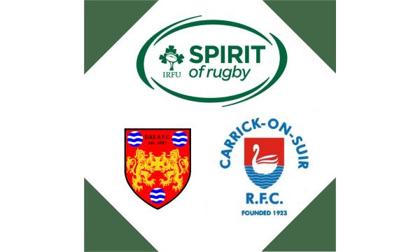 Birr RFC Hosting Spirit of Rugby Event