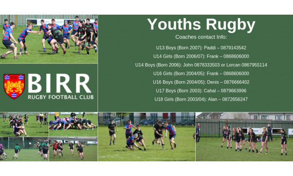 Youths Rugby's