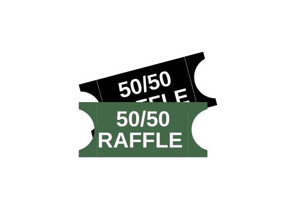 50/50 Raffle Ticket (x10)